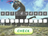 flash игра Dinosaurs: word scramble