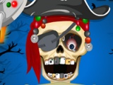 flash игра Pirate skeleton at dentist