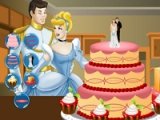 Cinderella. Wedding cake decor