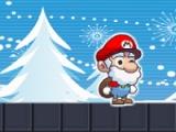 flash игра Mario. Christmas present