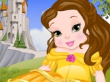 flash игра Baby Belle. Spa day