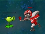 flash игра Plants-zombies battle