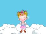 flash игра Baby Hazel. Jumping