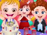 Baby Hazel. Birthday party