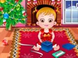 Vauva Hazel. Joulun aikaan