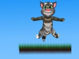 flash игра Talking Tom. Jump adventure