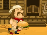 flash игра Mad burger 3. Wild West