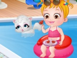 Baby Hazel. Summer fun