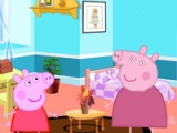flash игра Peppa Pig. Room decor