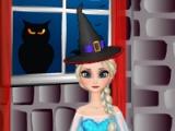 Elsa. Halloween room