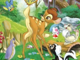 Bambi. Hidden objects