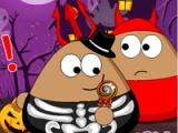 Pou. Halloween slaking