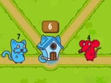 flash spel Cats vs muise