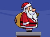 Santa. Chimney overcome