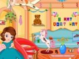flash игра Princess Sofia. New Year cleaning