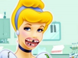 灰姑娘。牙醫訪問