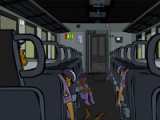 flash игра Death Train Escape