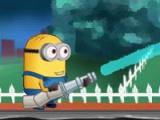 flash игра Minions become fireman