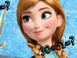 Frozen. Maths test