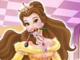 flash игра Princess Belle. Dentist visit