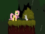 flash game Bunny salvataġġ Fluttershy ta