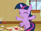 flash игра Twilight Sparkle. Christmas day