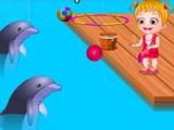 Baby Hazel. Dolphin tour