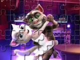 Talking Tom and Angela. Valentines Day
