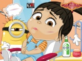 flash игра Agnes. Playgroound accident