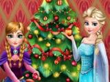 flash игра Frozen. Perfect Christmas tree