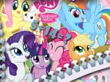 flash игра My little pony. Math quiz