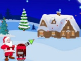 flash игра Santa. Gifts rescue