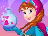 flash игра Frozen. Love spell