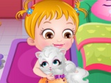 flash game Baby Hazel Naughty Cat