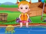 flash game Baby Hazel Fishing Time