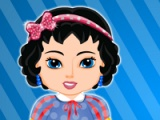 flash game Baby Snow White. Bubble bath