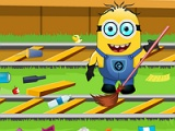 flash игра Minion at railway station