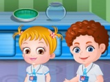 flash игра Baby Hazel. Science fair