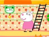 flash игра Peppa Pig. Mushroom house decor