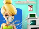 Tinkerbell in the ambulance