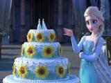 flash игра Frozen fever. Cake