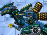 flash игра Combine! Dino robot. Tyrannosaurus Solider