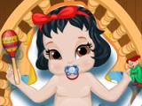 Snow White. Baby dush