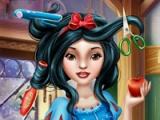 Snow White. Real haircuts