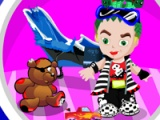 flash игра Monster High. Baby room cleaning
