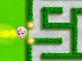 flash игра Elsa labyrinth escape