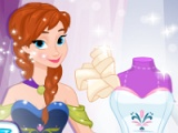 Ontwerp je Frozen trouwjurk