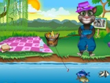 flash игра Tom fishing day