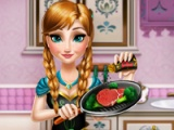 flash игра Anna. Real cooking