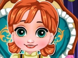 flash игра Baby Anna. Flu caring